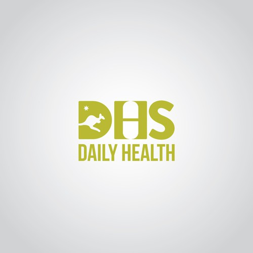 Help DHS, Daily Health Supplement with a new logo