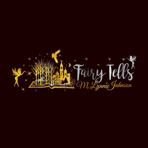 Magical Looking Logo for the title of book series Fairy Tells