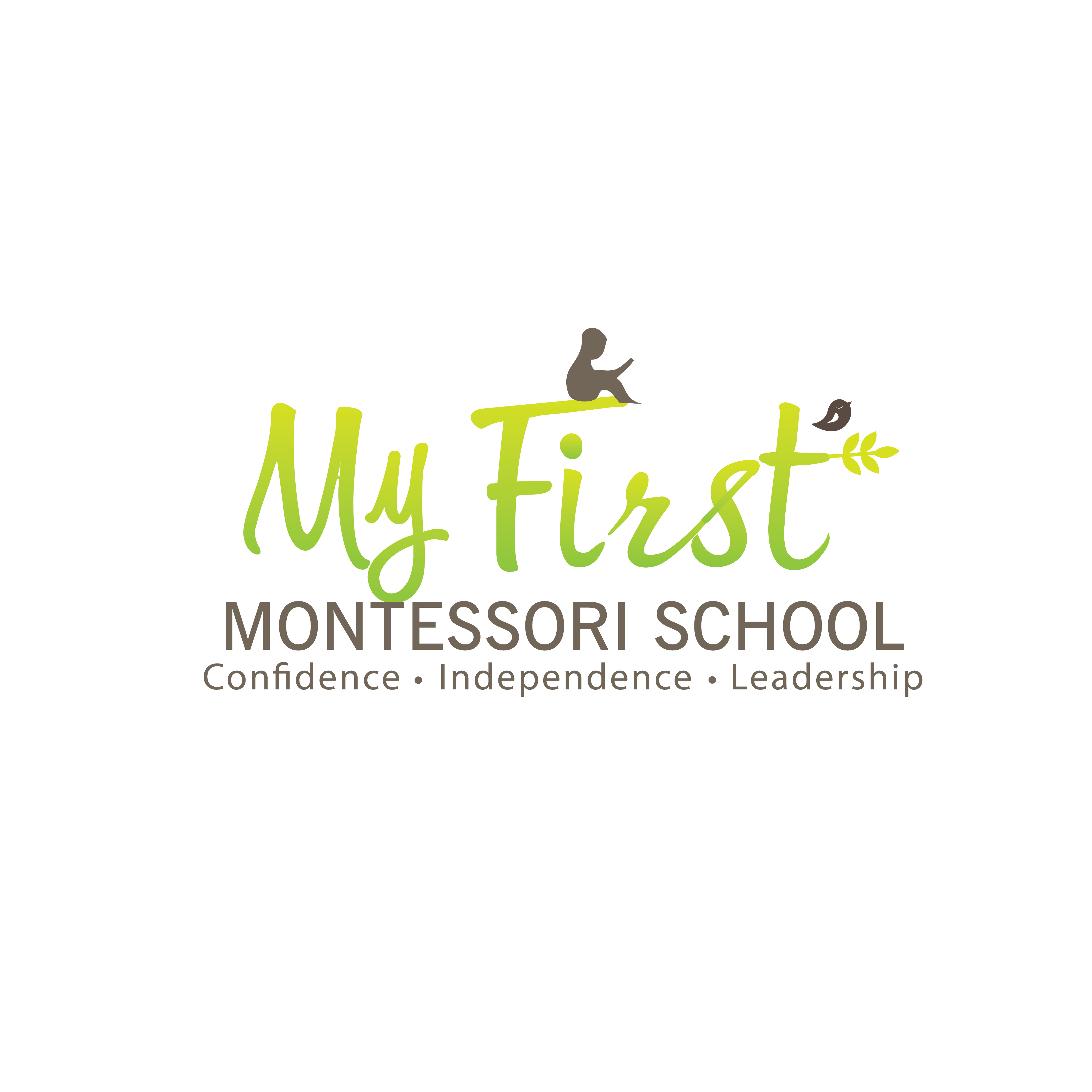 Create an attractive logo design for an early years montessori school