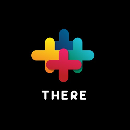 """Logo Concept for """"There"""" app"""