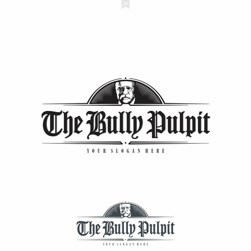 Logo design for The Bully Pulpit