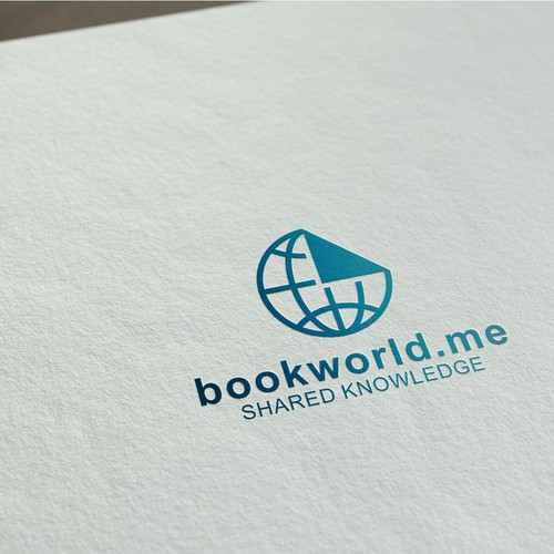 World's largest private library BookWorld.me logo contest