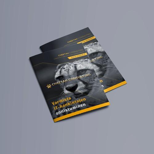 A4 Size Brochure Design Concept