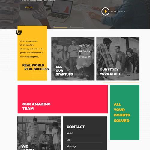 Ventures Webpage