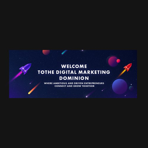 FB Group Cover for Digital Marketing