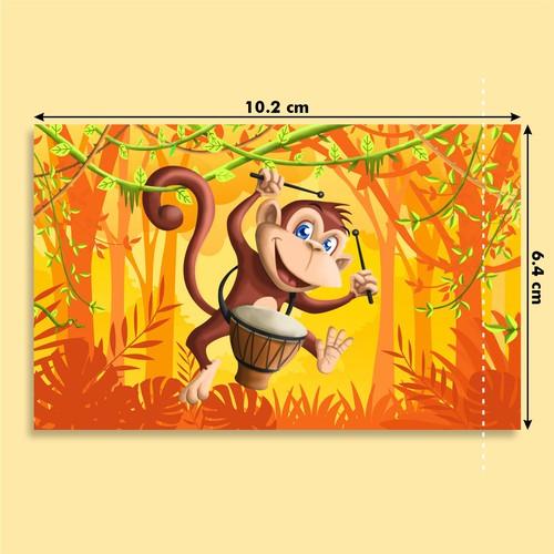 Fun Character Jungle Animals