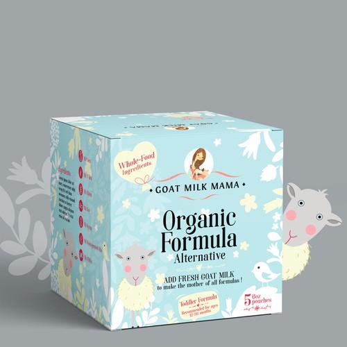 Organic Milk for toddler !!