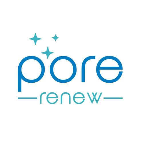 logo concept for Pore Renew