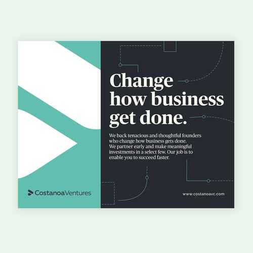 Corporate Ad for Costanoa Ventures