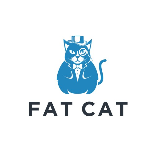 Winning logo design for Fat Cat