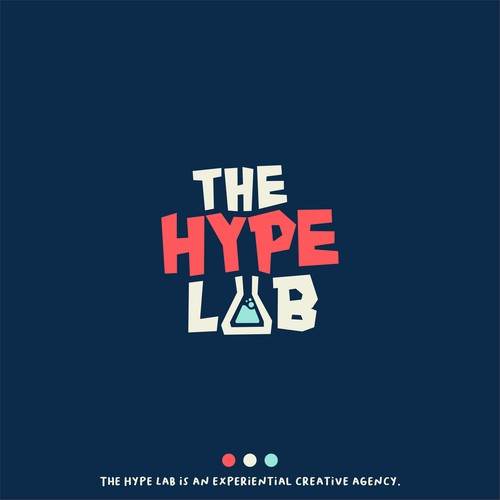Logo concept for The Hype Lab