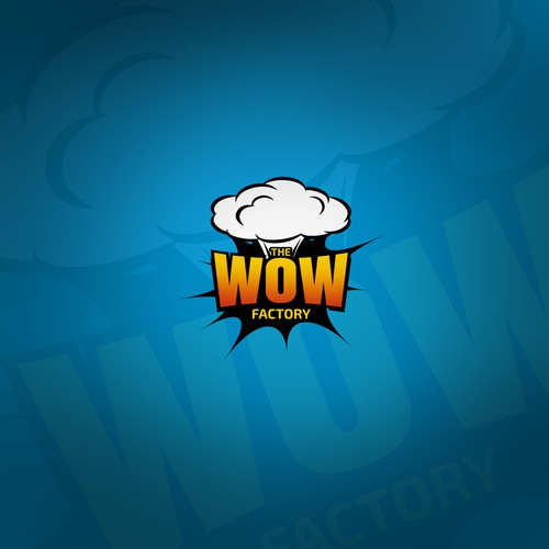 Logo with wow feeling