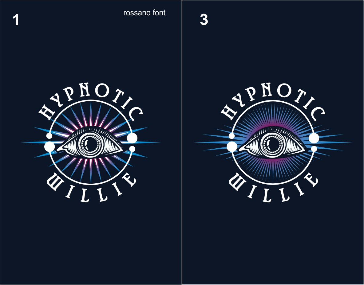 Help Hypnotic Willie with a new logo