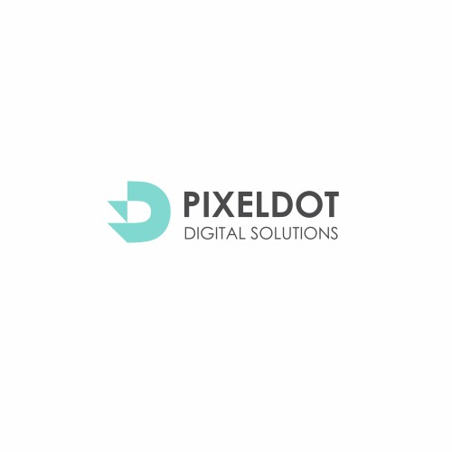 "Design an attractive business logo for a fresh new starter tech company. ""Pixeldot Digital Solutions"
