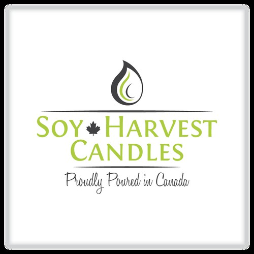 Soy Harvest Candles FOUND a new logo