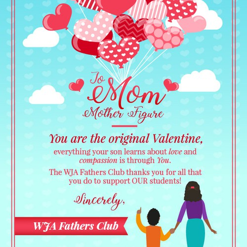 Mothers Valentine's Day Card