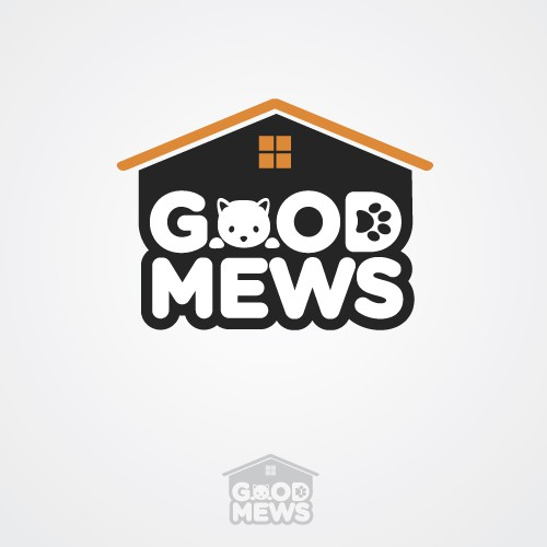 99nonprofits: Design a new logo for Good Mews, a nonprofit shelter for homeless and abused cats