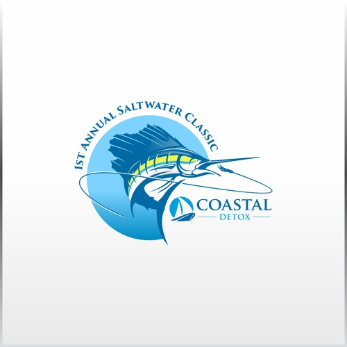 Logo concept for Coastal Detox