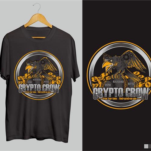 Cryptocrow tshirt