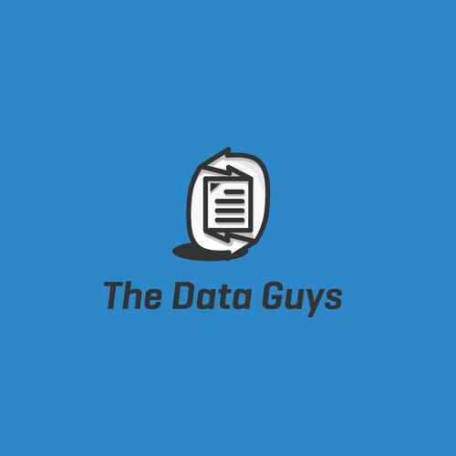 Simple & Modern Logo For The Data Guys