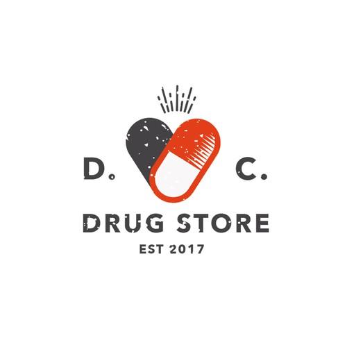 D.C. Drug  Store logo