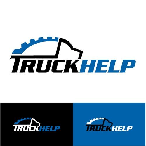 Create the next logo for TruckHelp.com