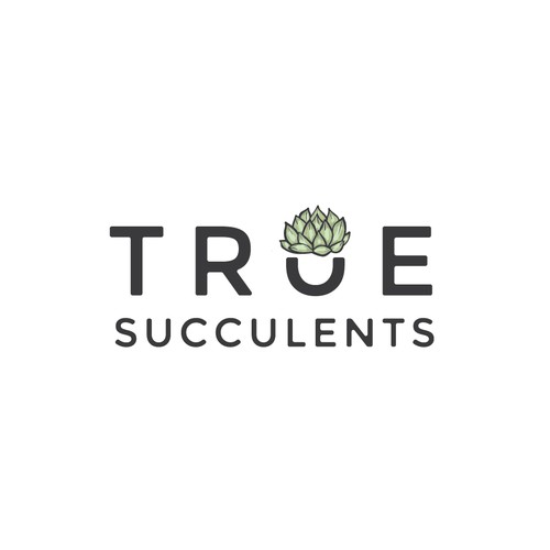 True Succulents Logo