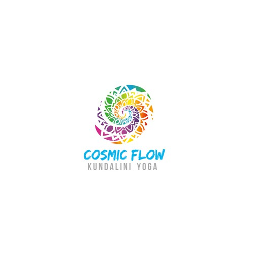 Logo concept for yoga