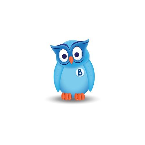 Ogie Mascot Design for Bogie Framework Capital One Internal Project
