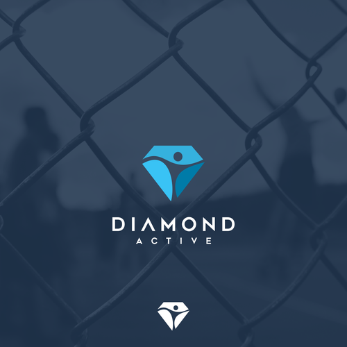 logo concept for diamond active