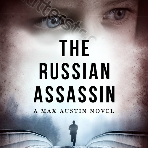 Book cover for thriller, 'The Russian Assassin'