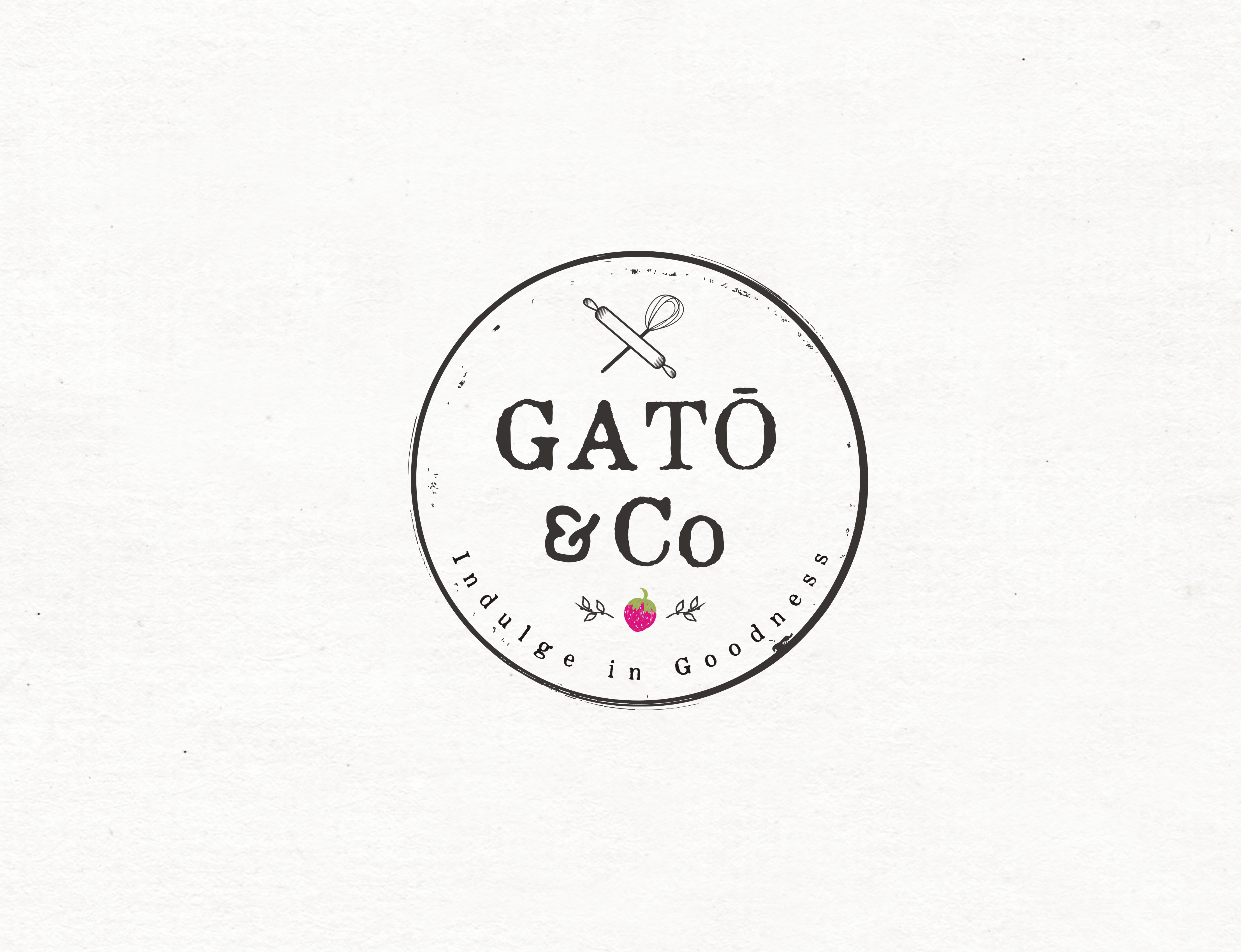 Create a mind-blowing logo & brand identity for GATŌ &Co, and change the face of tomorrow's desserts