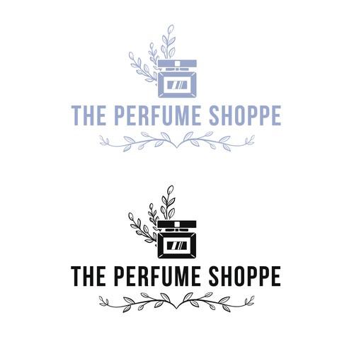 logo for a perfume shop