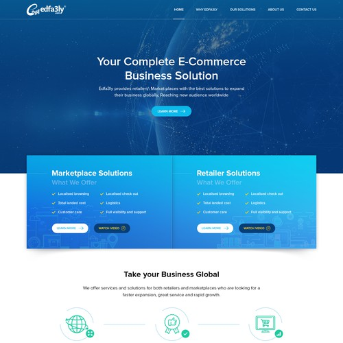 Website for E-Commerce Business Owners Worldwide