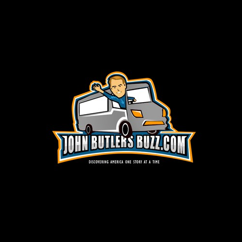Logo design for John Butlers buzz.com