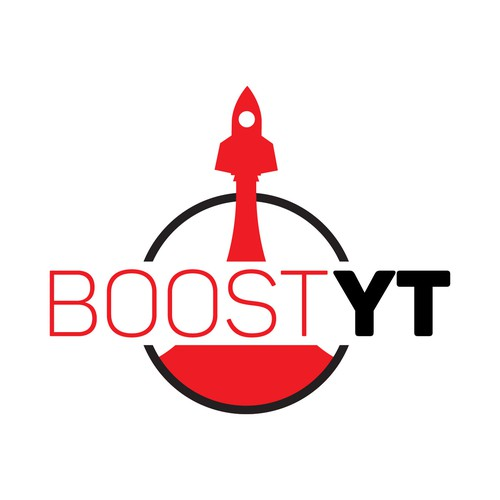 A minimalist launching rocket icon design