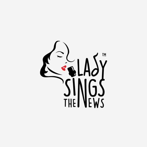 Lady Sings the News logo
