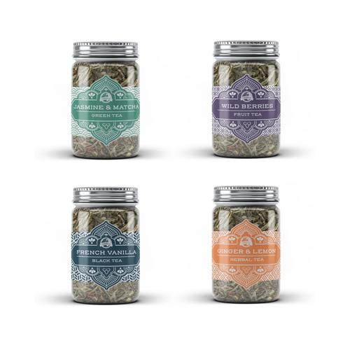 Premium Organic Tea Brand