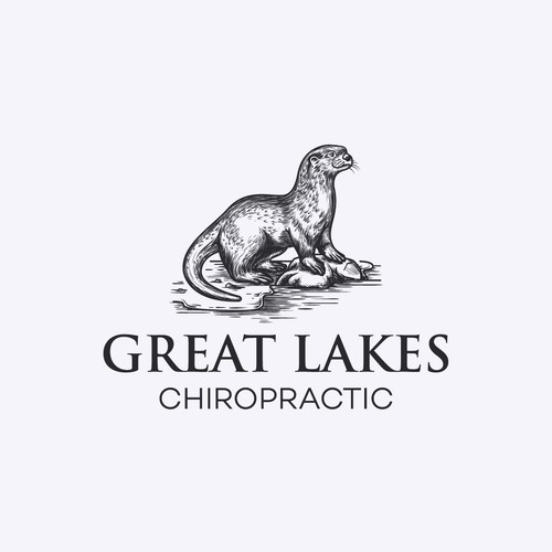 Logo proposal for Great Lakes Chiropractic.