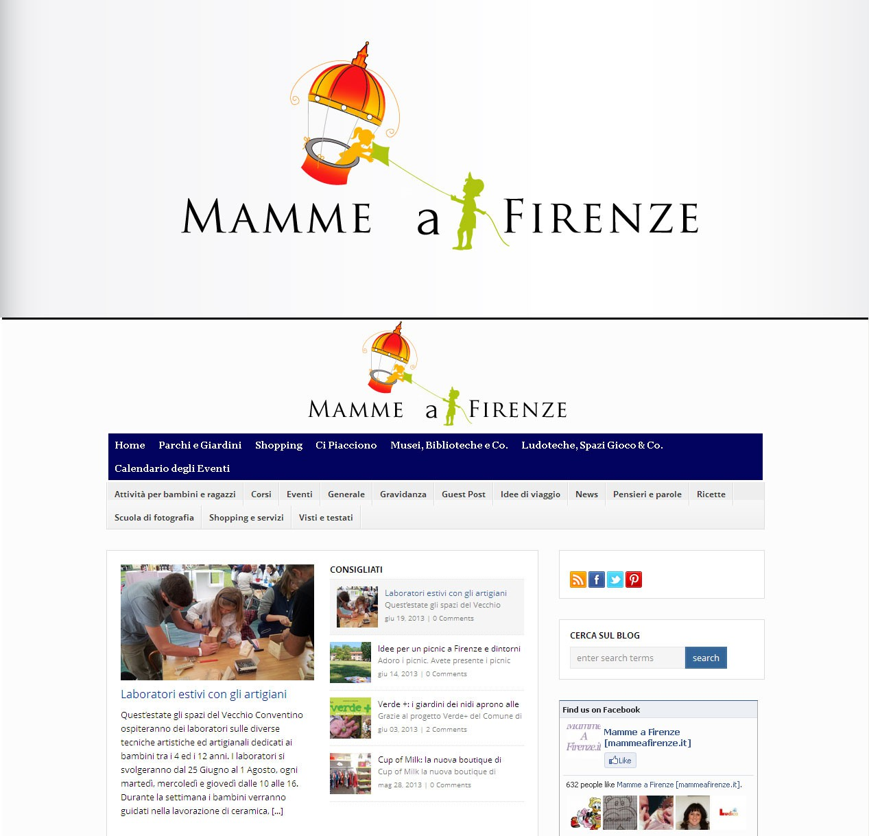 Create the new logo for MammeaFirenze.it
