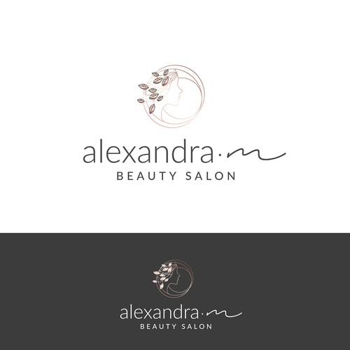 Logo concept for a beauty salon
