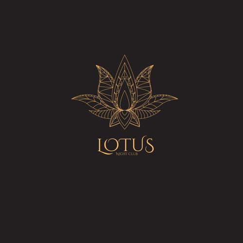 logo concept for Lotus Night Club
