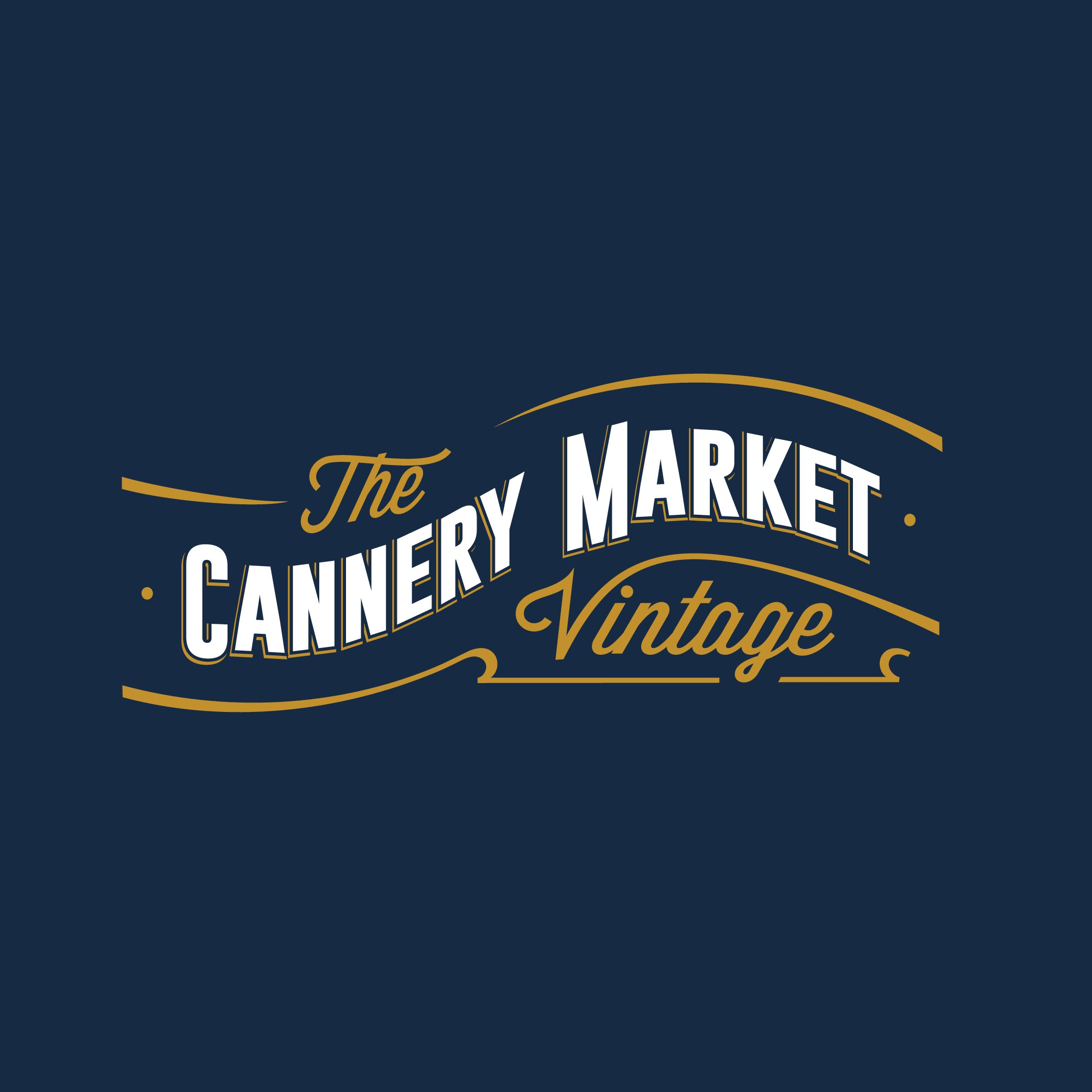 Design a warm logo/card for Cannery Market, a store of truly cool stuff