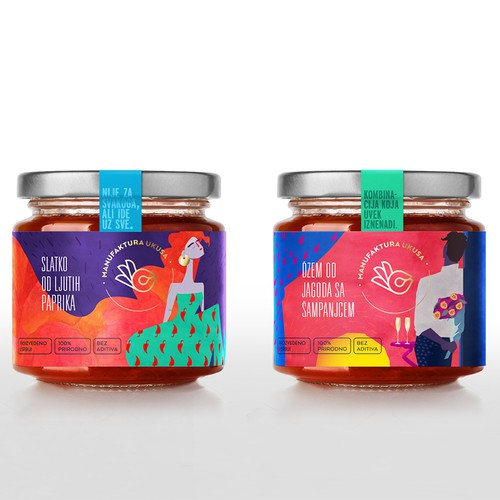 Extraordinary packaging for extraordinary jams