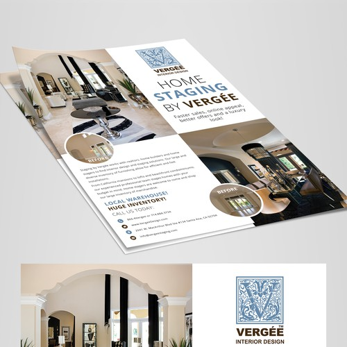 Staging Flyer to Attract Builders and Realtors
