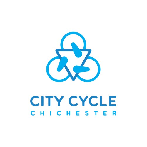 Logo design for a small town cycling shop