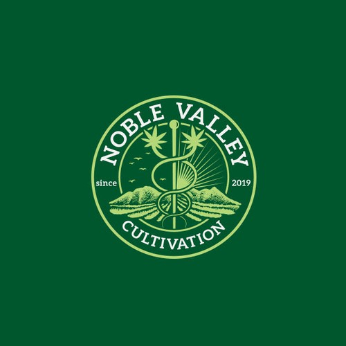 Logo concept for Noble Valley.