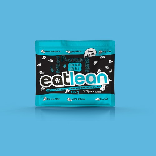 Fresh & Modern creative for leading healthy food brand