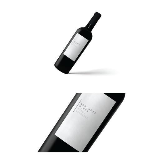 Simple Wine Label
