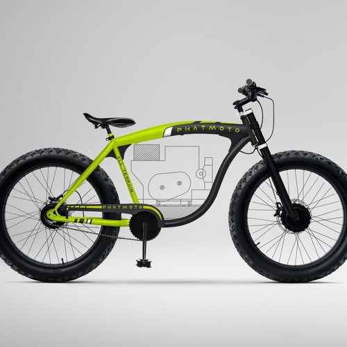 Bicycle livery and frame design